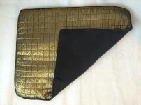 Underlägg i guld och svart