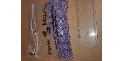 Latex snodd S 6mm lila
